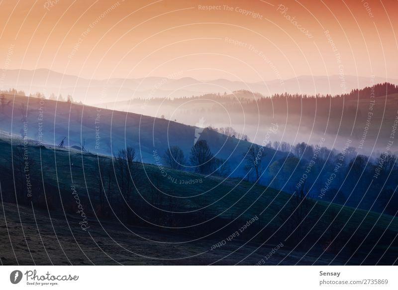 Himmel Natur Sommer blau Landschaft Sonne Baum Winter Berge u. Gebirge Herbst natürlich Tourismus Park Nebel Hügel Jahreszeiten