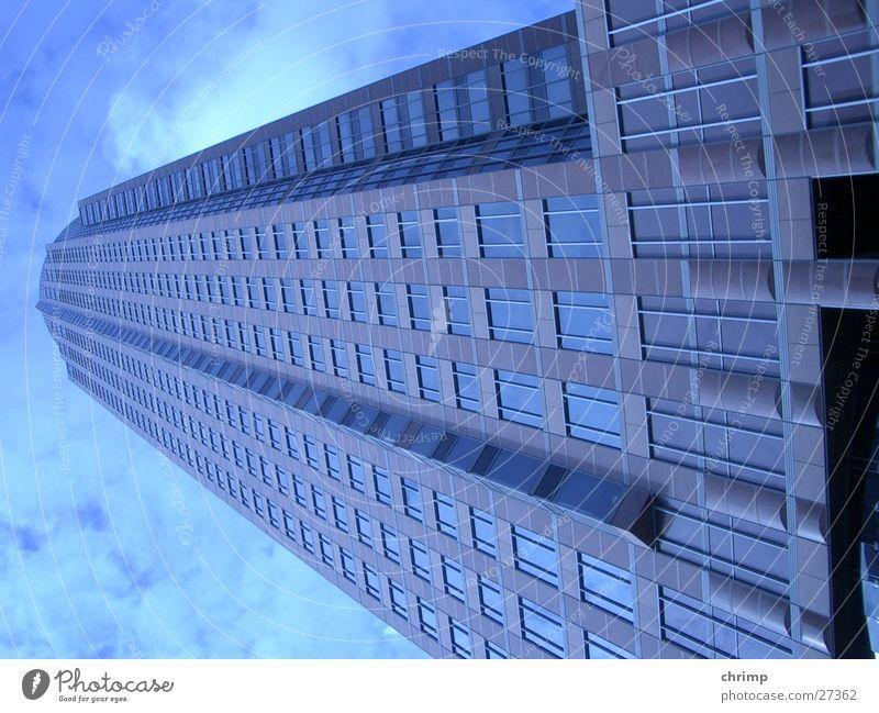 Maintower Frankfurt am Main Hochhaus Fenster Architektur maintower Himmel