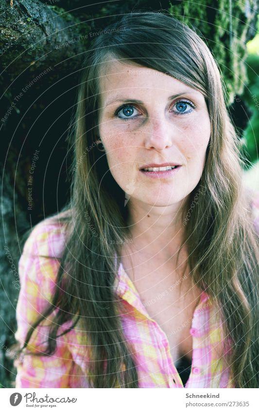 Endless Mensch Frau Jugendliche schön Erwachsene Gesicht Auge feminin Leben Haare & Frisuren Junge Frau Kopf 18-30 Jahre natürlich Mund Nase