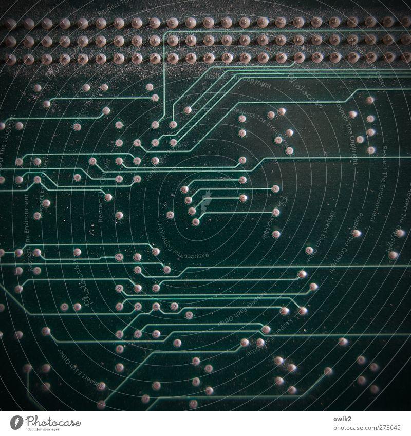 Speed dating Technik & Technologie Fortschritt Zukunft High-Tech Informationstechnologie Internet dunkel klein nah viele verrückt grau grün violett schwarz
