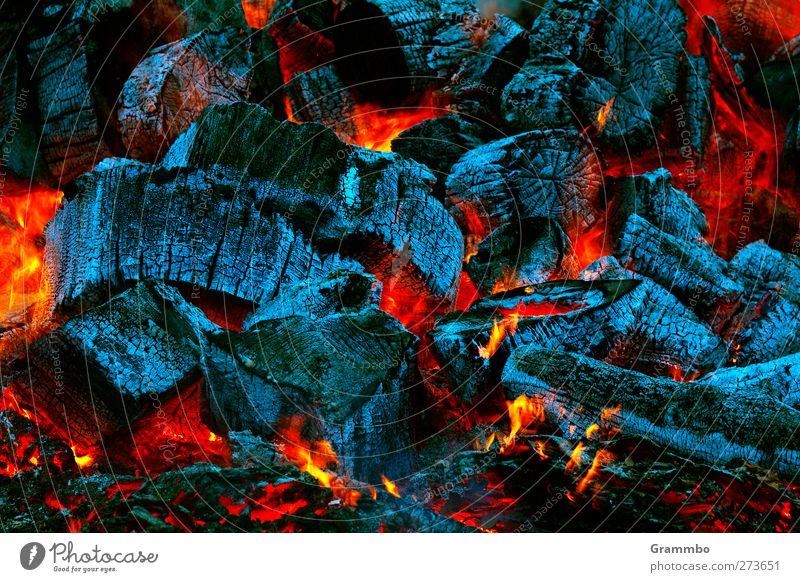 glühend Wärme Feuer heiß brennen gemütlich Glut