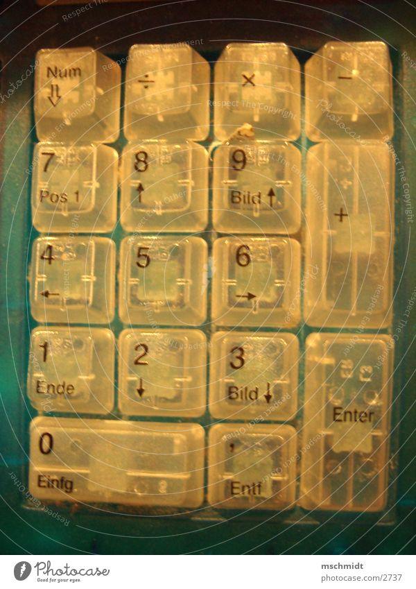 Nummernblock Technik & Technologie Ziffern & Zahlen Tastatur Elektrisches Gerät