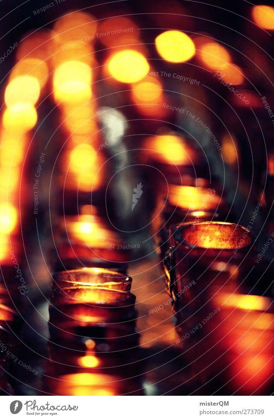 Besinnung. Religion & Glaube Kunst Kirche ästhetisch Hoffnung viele Wunsch Kerze Gott Gottesdienst Erinnerung Verbundenheit Katholizismus Souvenir Mitgefühl
