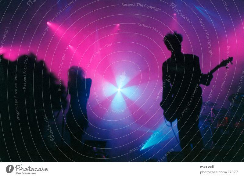After Midnight Konzert Licht Menschengruppe Schnur london after midnight Musik