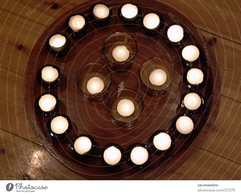 Candlegate Stil Wärme Kerze obskur