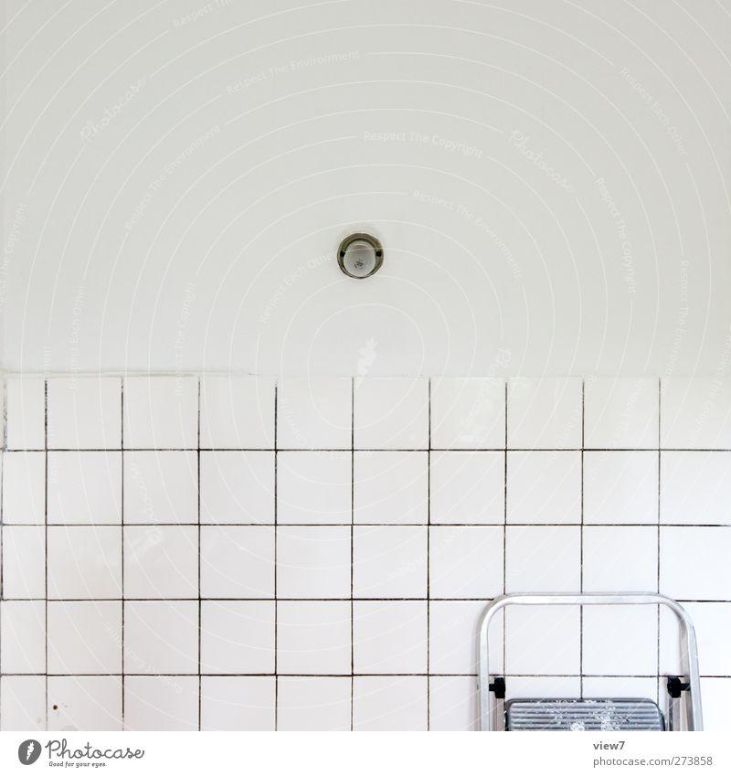 cntrl weiß Stadt Innenarchitektur Lampe hell Wohnung Ordnung modern Beginn Häusliches Leben Vergänglichkeit Bad Küche rein Umzug (Wohnungswechsel) Vergangenheit