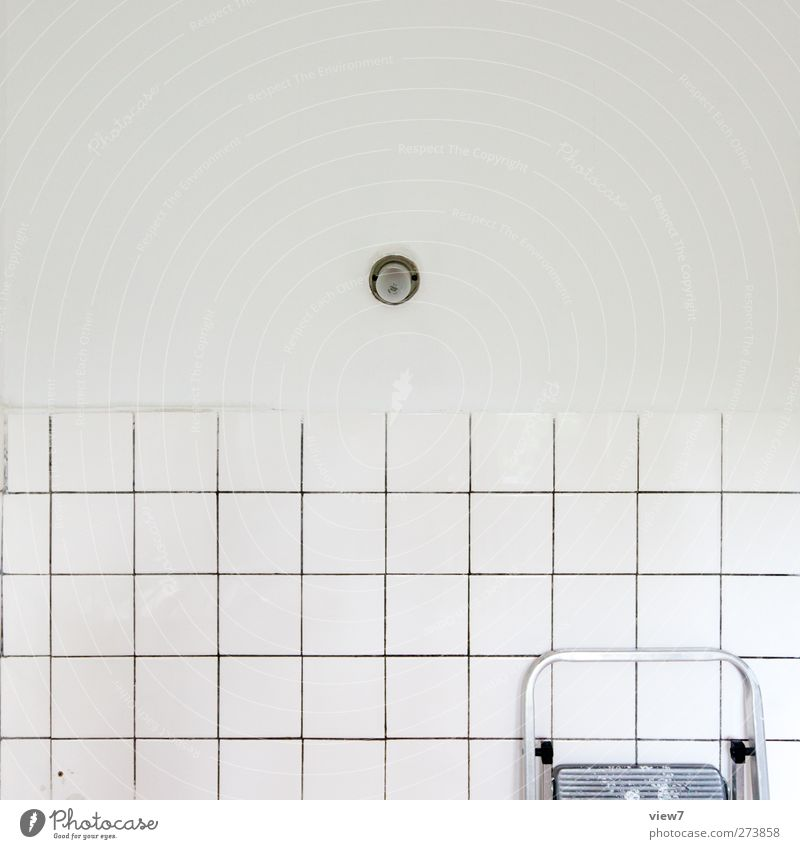 cntrl Wohnung Renovieren Umzug (Wohnungswechsel) einrichten Innenarchitektur Küche Bad hell modern Stadt weiß Beginn Genauigkeit Identität Ordnung rein Verfall