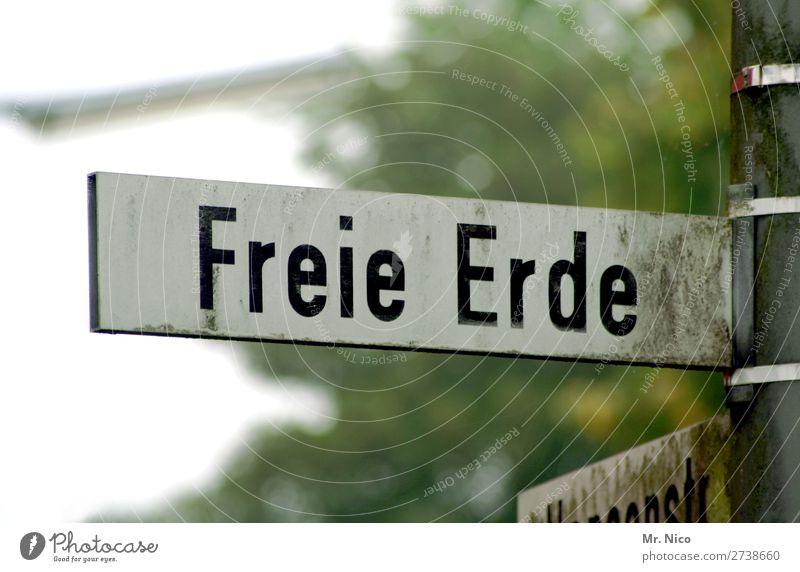 Freie Erde Ferne Straße Umwelt Wege & Pfade Freiheit frei Schriftzeichen dreckig Hinweisschild entdecken Unendlichkeit Sehnsucht Fernweh Köln