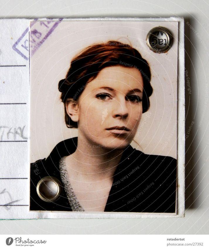 passbild Frau Haare & Frisuren braun elegant Passbild