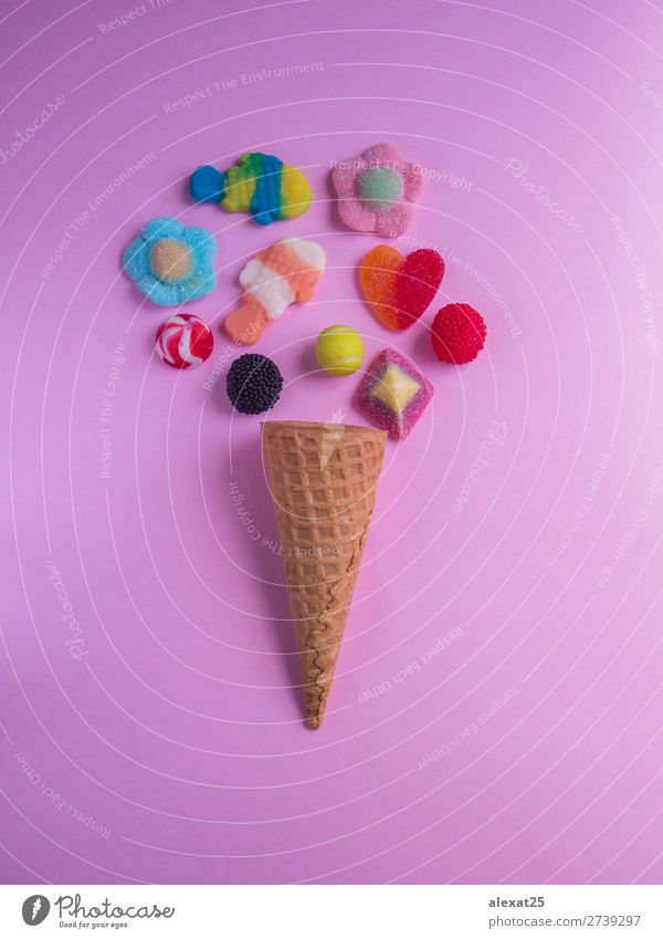 Sommer Farbe weiß rot gelb Mode rosa frisch Aussicht Fotografie lecker Dessert Gastronomie Erfrischung Zucker Snack