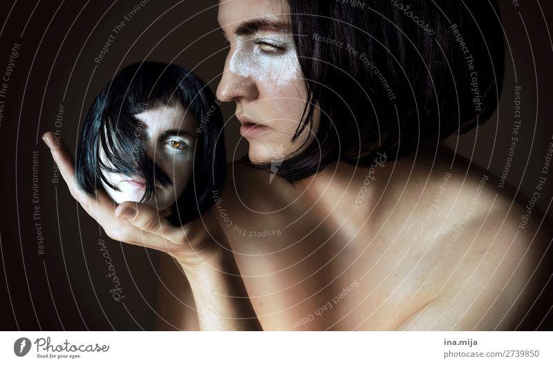 in deiner Hand Mobbing Grausamkeit Konflikt & Streit Belästigung Probleme missbraucht Opfer Hoffnungslosigkeit Geisel Depression Hass Last einsam Menschenhandel