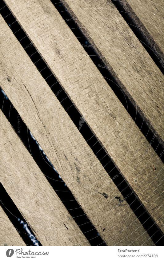 Zwischenraum Holz Linie braun diagonal Steg Holzbrett Spalte minimalistisch