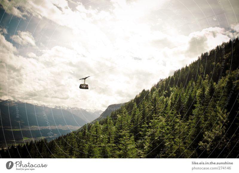 am sonntag einen kleinen ausflug? Ferien & Urlaub & Reisen Baum Sommer Wolken Wald Umwelt Ferne Landschaft Berge u. Gebirge Felsen Freizeit & Hobby hoch wandern
