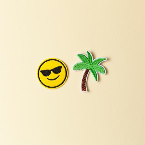 Urlaubsfeeling Ferien & Urlaub & Reisen Sommer Sonne Freude Ferne Strand Gefühle Glück Tourismus Freiheit Ausflug Freizeit & Hobby Dekoration & Verzierung Insel