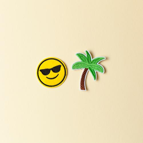 Urlaubsfeeling Ferien & Urlaub & Reisen Tourismus Ausflug Ferne Sommer Sommerurlaub Sonne Sonnenbad Strand Insel Accessoire Sonnenbrille Dekoration & Verzierung