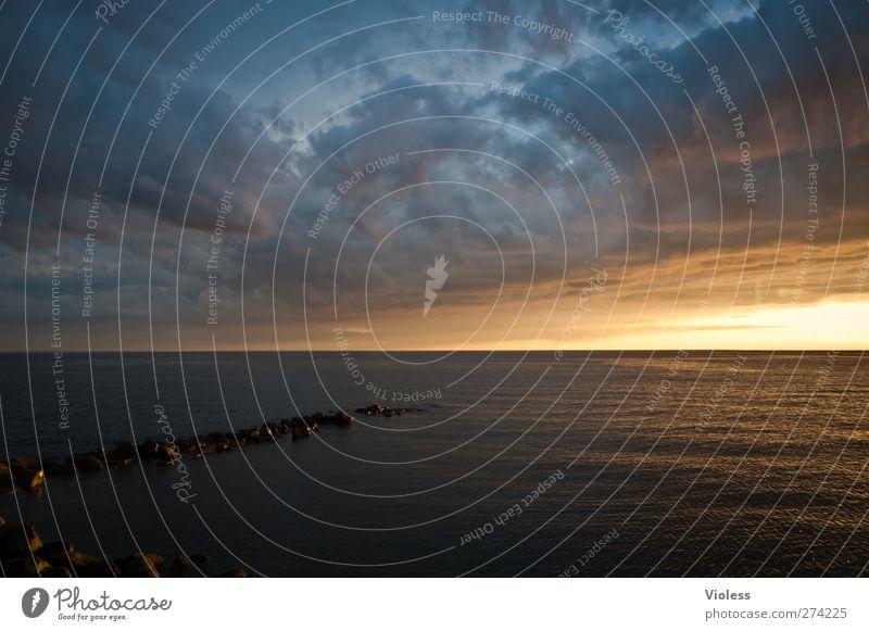 Hiddensee | ....restless Natur Landschaft Himmel Wolken Sonnenaufgang Sonnenuntergang Sonnenlicht Frühling Wetter Küste Ostsee Meer bedrohlich fantastisch Kraft