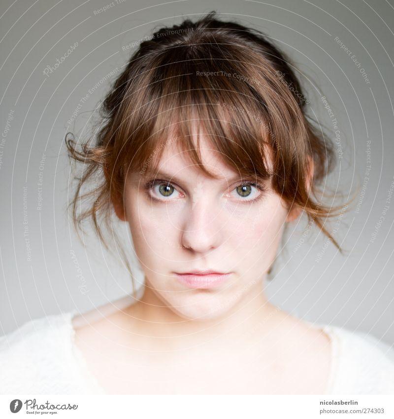 MP26 - Wer bin ich und wenn ja, wie viele? Mensch Jugendliche schön ruhig Erwachsene Erholung Auge feminin Leben Haare & Frisuren Junge Frau Denken träumen natürlich 18-30 Jahre niedlich