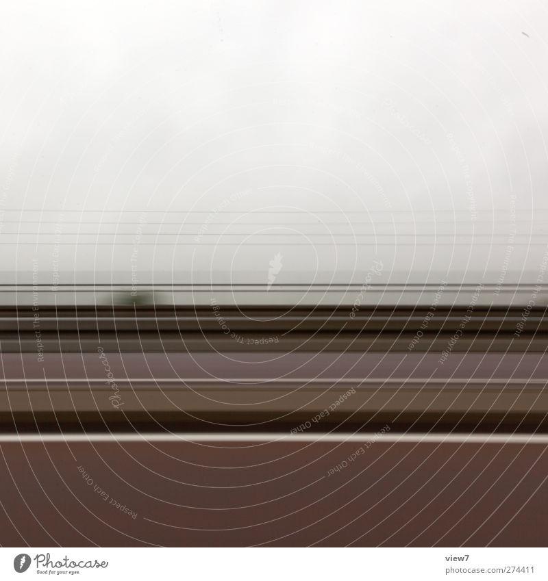 Reisetätigkeit Straße Linie Energiewirtschaft Schilder & Markierungen Beginn Design Beton modern Verkehr Geschwindigkeit authentisch ästhetisch Streifen fahren