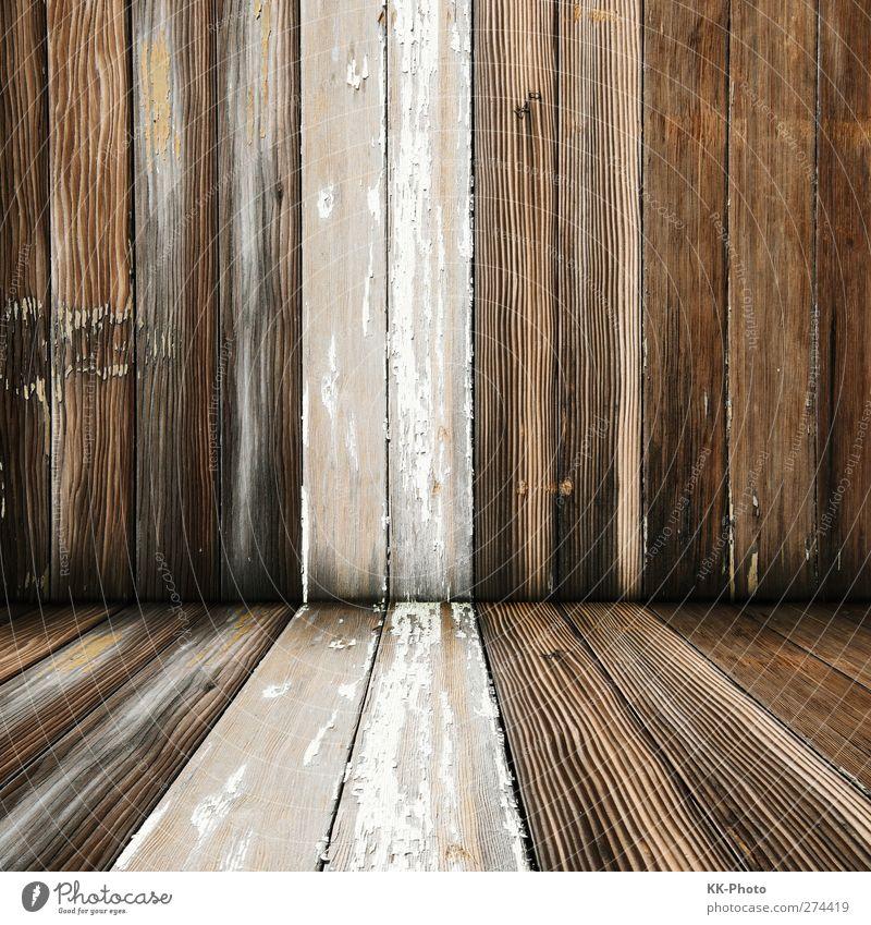 Holzraum Natur Natur alt weiß Haus Wand Holz Mauer Stil Innenarchitektur braun Raum natürlich dreckig Dekoration & Verzierung Häusliches Leben kaputt