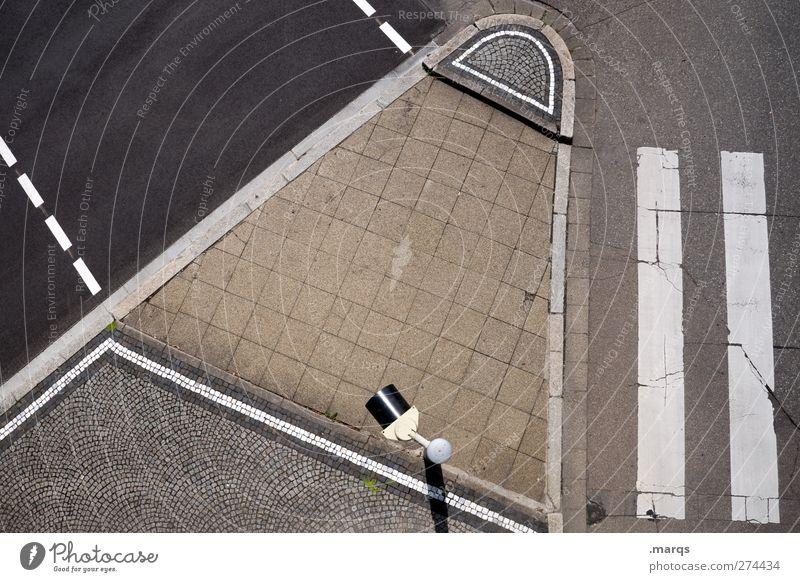 Insel Stadt Einsamkeit Straße Wege & Pfade Linie Schilder & Markierungen Verkehr Streifen Zeichen Verkehrswege Ampel Personenverkehr Straßenkreuzung Fußgänger