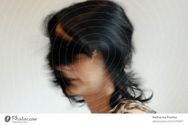 Hairdress Mensch Frau Jugendliche weiß schön schwarz Erwachsene Gesicht feminin Haare & Frisuren Kopf Junge Frau braun einzigartig brünett langhaarig