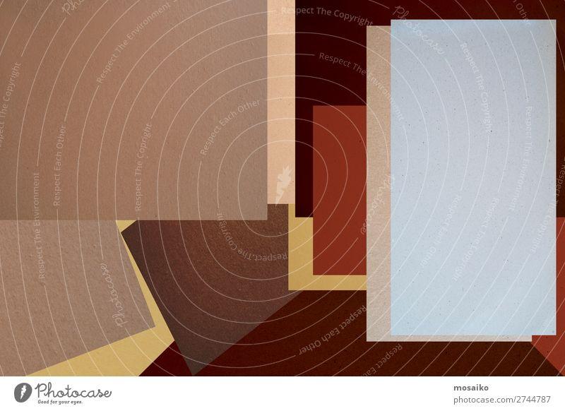 Nahaufnahme des abstrakten Hintergrunds - braunes Grafikdesign Lifestyle elegant Stil Design Basteln Bildung Studium lernen Arbeitsplatz Büro Post Business