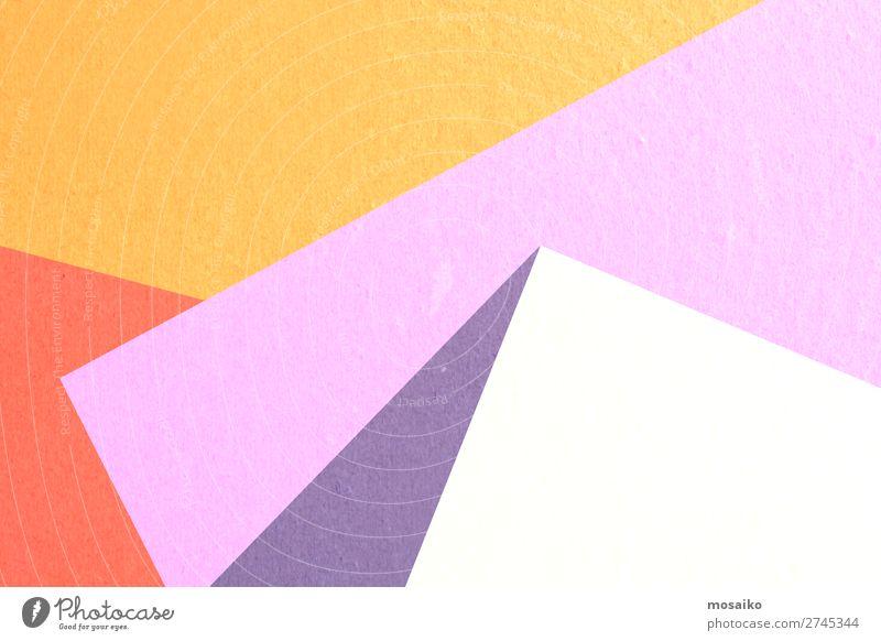 farbenfrohe Papierstruktur - Hintergrundgestaltung Stil Design Dekoration & Verzierung Tapete Bildung Schule Büro Erfolg Kunst dreckig retro gelb weiß