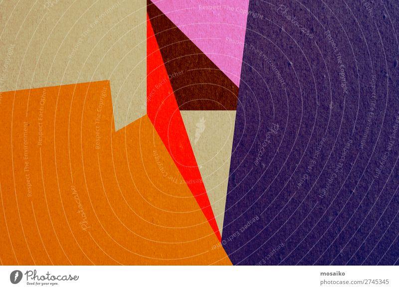 farbenfrohe Papierstruktur - Hintergrundgestaltung Stil Design Dekoration & Verzierung Tapete Handwerk Rost dreckig retro gelb weiß Kreativität Material rau