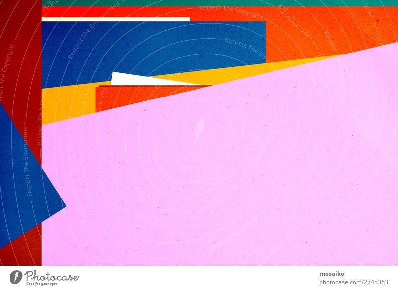 colourful paper texture - background design elegant Stil Design Dekoration & Verzierung Tapete Bildung Kindergarten Schule Handwerk Kunst Kultur Papier Rost alt