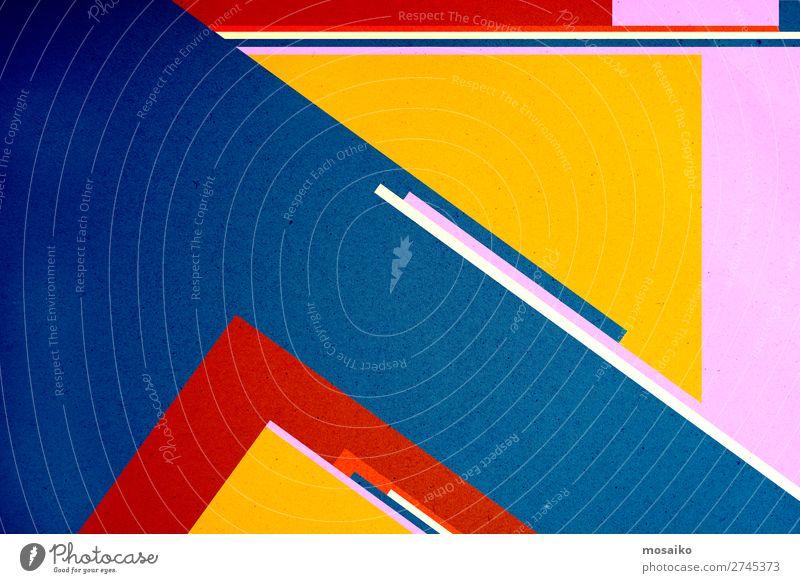 farbenfrohe Papierstruktur - Hintergrundgestaltung Lifestyle Stil Design Glück Dekoration & Verzierung Tapete Entertainment Party Veranstaltung Bildung Handwerk