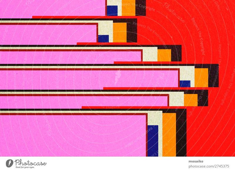 colourful paper texture - background design Stil Design Dekoration & Verzierung Tapete Handwerk Papier Rost alt dreckig retro gelb weiß ästhetisch Zufriedenheit