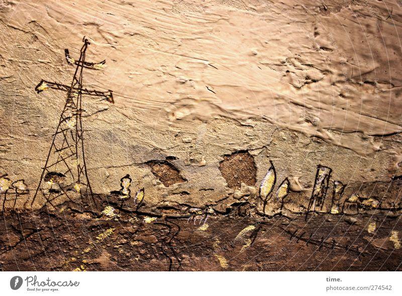 Rohstoff/e (II) Technik & Technologie Energiewirtschaft Kunst Kunstwerk Gemälde Kultur Landschaft authentisch eckig Originalität rebellisch Abenteuer ästhetisch