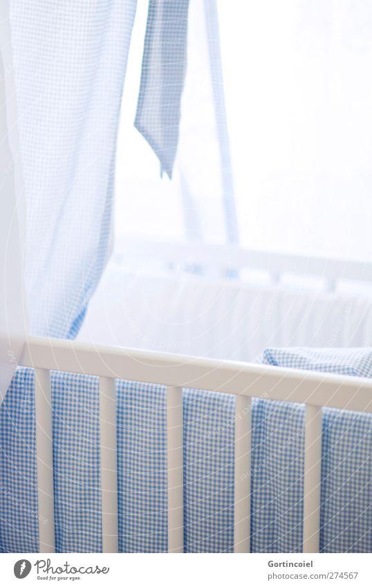 E. M. P. blau hell Baby Geburt Nachkommen Kinderzimmer Babybett Kinderbett