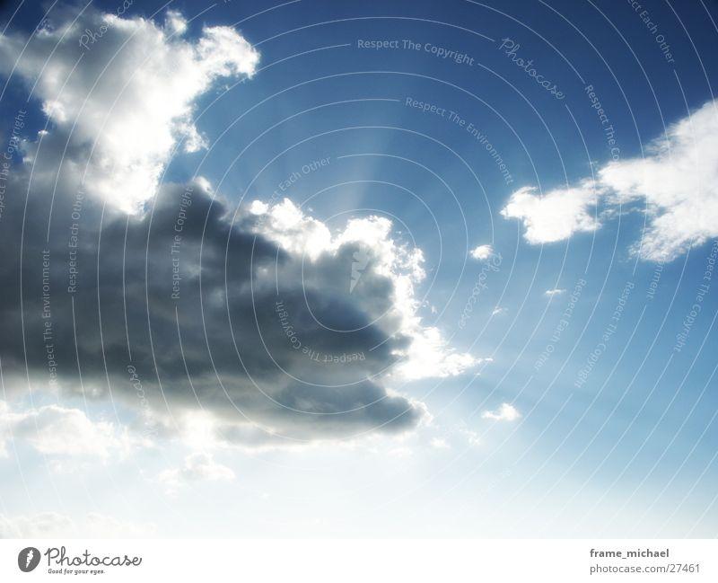 sunrays Himmel Sonne Wolken Beleuchtung