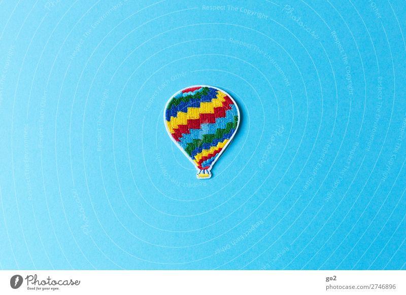 Heißluftballon Freizeit & Hobby Ferien & Urlaub & Reisen Ausflug Abenteuer Ferne Freiheit Sommer Sommerurlaub Luftverkehr Ballone Accessoire