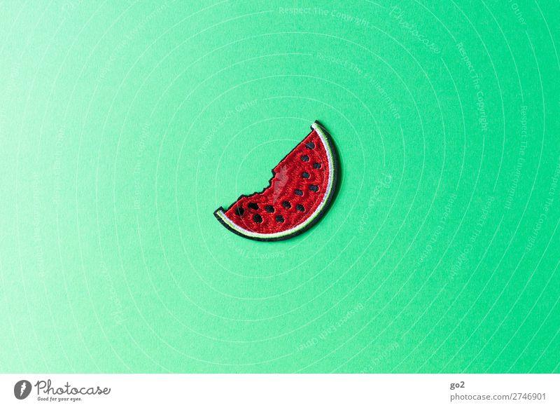 Wassermelone Lebensmittel Frucht Melonen Ernährung Bioprodukte Vegetarische Ernährung Diät Fasten Gesunde Ernährung Accessoire Dekoration & Verzierung Stoff