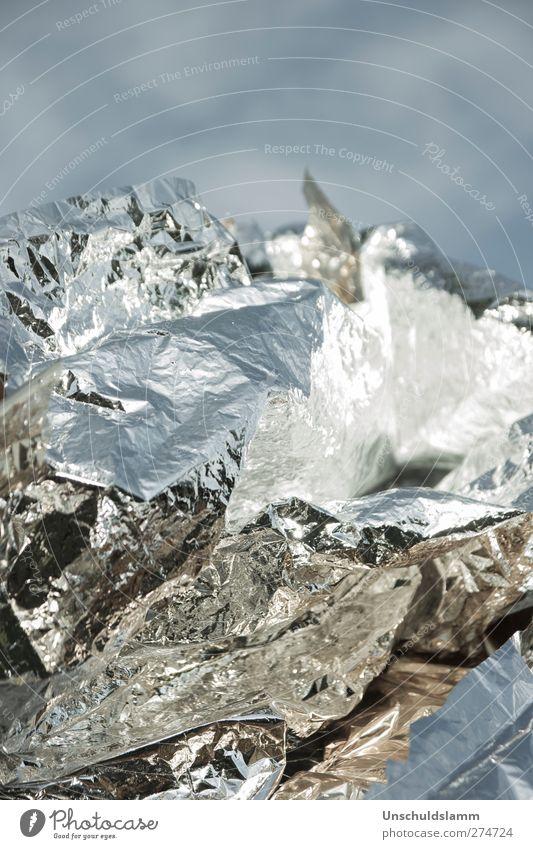 Alumountain Himmel blau weiß Winter Umwelt Landschaft kalt Berge u. Gebirge Lebensmittel Metall Kunst gold ästhetisch Zukunft Dekoration & Verzierung