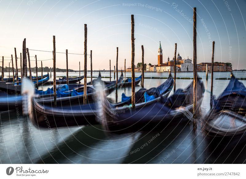 Fernweh   bisschen Venedig geht immer! Ferien & Urlaub & Reisen Tourismus Ausflug Sightseeing Städtereise Sommer Sommerurlaub Wolkenloser Himmel Sonnenaufgang