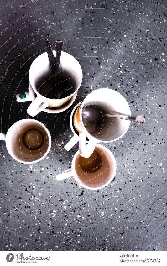 Kaffee Getränk Latte Macchiato Espresso Tee Geschirr Tasse Becher Besteck Löffel Häusliches Leben Wohnung Entertainment Veranstaltung Restaurant Feste & Feiern