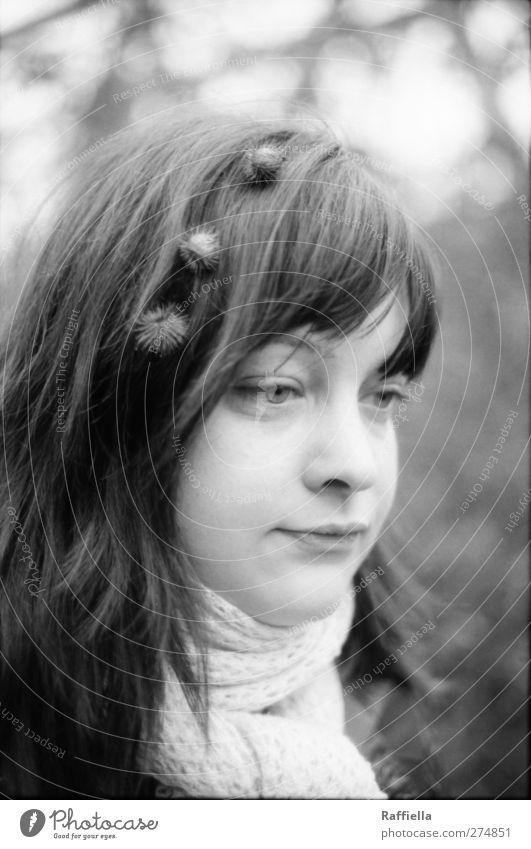 like a limpet II feminin Junge Frau Jugendliche Kopf Haare & Frisuren Gesicht Auge Nase Mund 1 Mensch 18-30 Jahre Erwachsene Pflanze Baum Sträucher