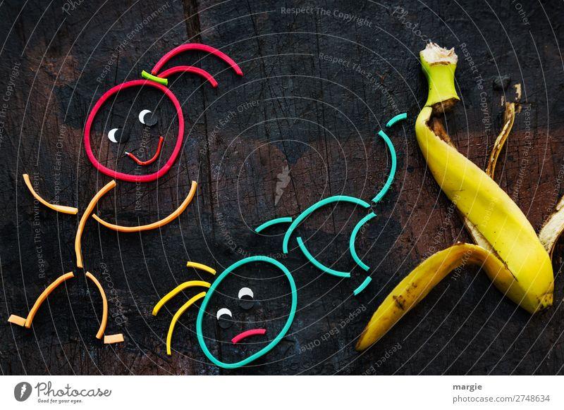 hinterhältig | Wer den Schaden hat, braucht für den Spott... Lebensmittel Ernährung Bioprodukte Vegetarische Ernährung Mensch maskulin feminin androgyn Mädchen