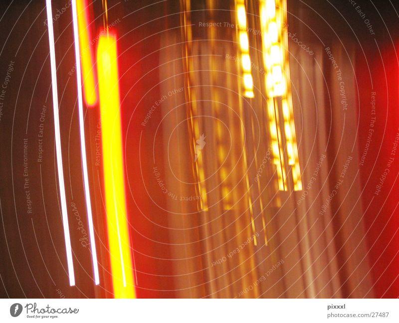 Lichterspiel weiß rot Wärme orange braun Hintergrundbild Technik & Technologie Physik vertikal