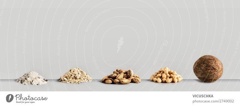 Vegan Milch Zutaten kaufen Design Gesundheit Gesunde Ernährung Fahne Vegane Ernährung Hintergrundbild Nut Protein alternativ Milcherzeugnisse Reis