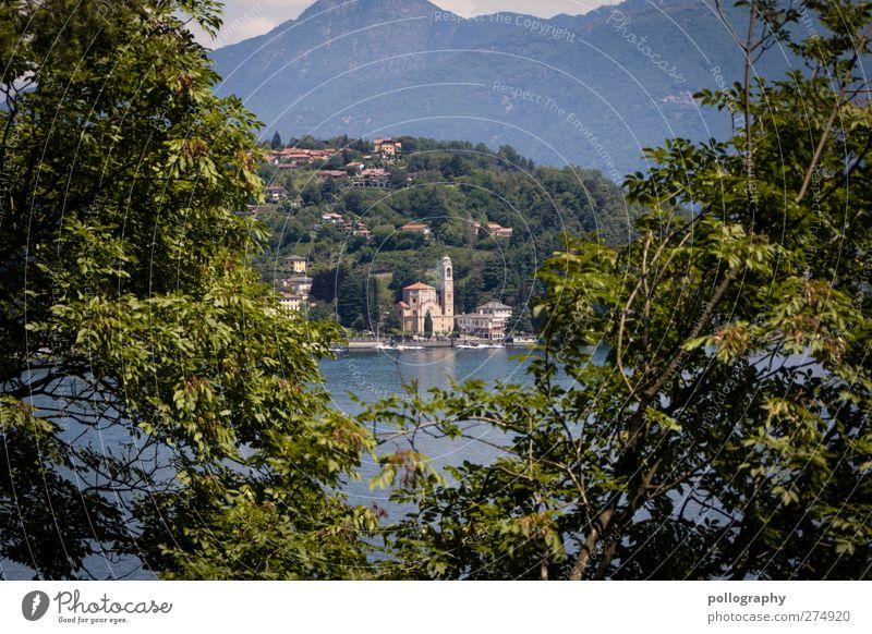 entdecken Natur Ferien & Urlaub & Reisen grün Pflanze Haus Wald Umwelt Landschaft Berge u. Gebirge See Felsen Tourismus Ausflug Kirche Abenteuer Sträucher