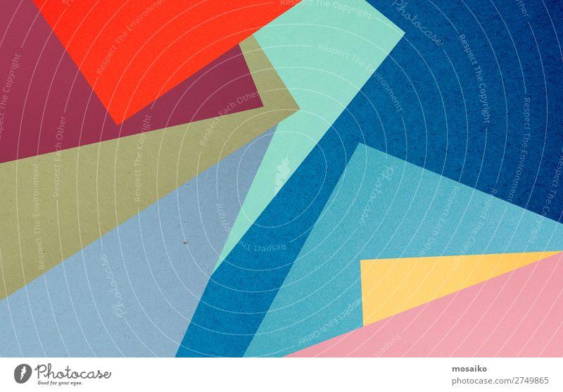 farbenfrohe Papierstruktur - Hintergrundgestaltung Lifestyle elegant Stil Design Dekoration & Verzierung Tapete Party Veranstaltung Feste & Feiern Geburtstag
