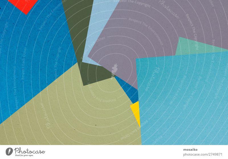 farbenfrohe Papierstruktur - Hintergrundgestaltung elegant Stil Design Dekoration & Verzierung Tapete Entertainment Veranstaltung Feste & Feiern Business Erfolg