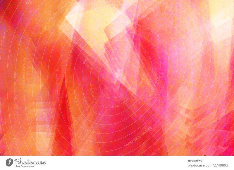 Farbspiel Rot, Pink, Gelb, Orange Freude Lifestyle Leben gelb Beleuchtung Stil Kunst Party Stimmung Design Zufriedenheit elegant Kultur ästhetisch Kreativität