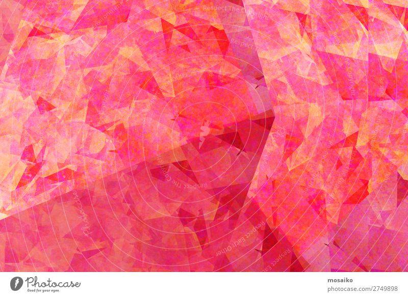 Geometrische Muster - Pink Lifestyle elegant Stil Design exotisch Freude Glück schön Körperpflege Kosmetik Schminke Lippenstift Nagellack Rouge Wellness Leben