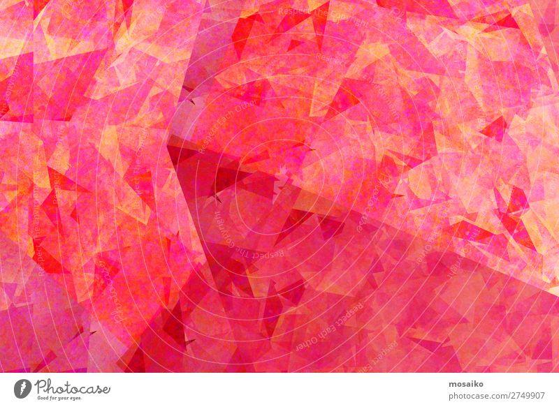 Rosa Farben - Grafische Formen Lifestyle Stil Design exotisch Freude Kunst Gemälde Gefühle Fröhlichkeit Begeisterung Euphorie einzigartig elegant Erfolg