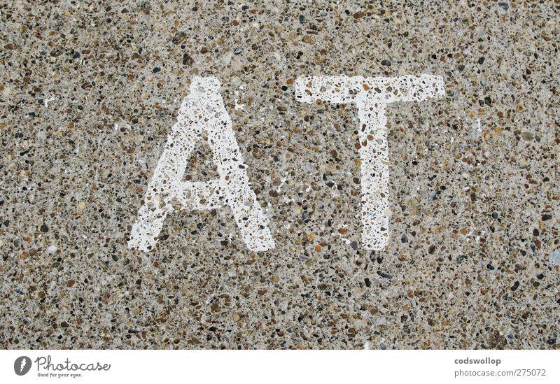 •- - Schilder & Markierungen Schriftzeichen Kommunizieren Typographie Englisch Verkehrsschild Verkehrszeichen